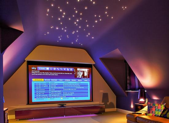 How To Turn Your Loft Into A Home Cinema Abbey Partnership