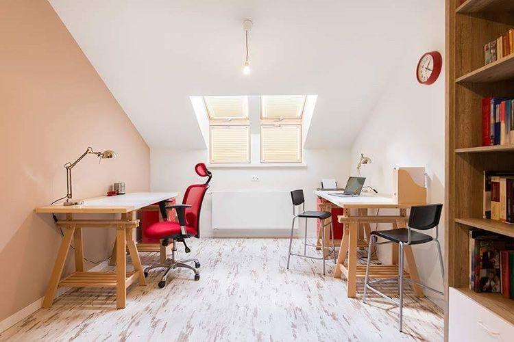 Loft conversion home office