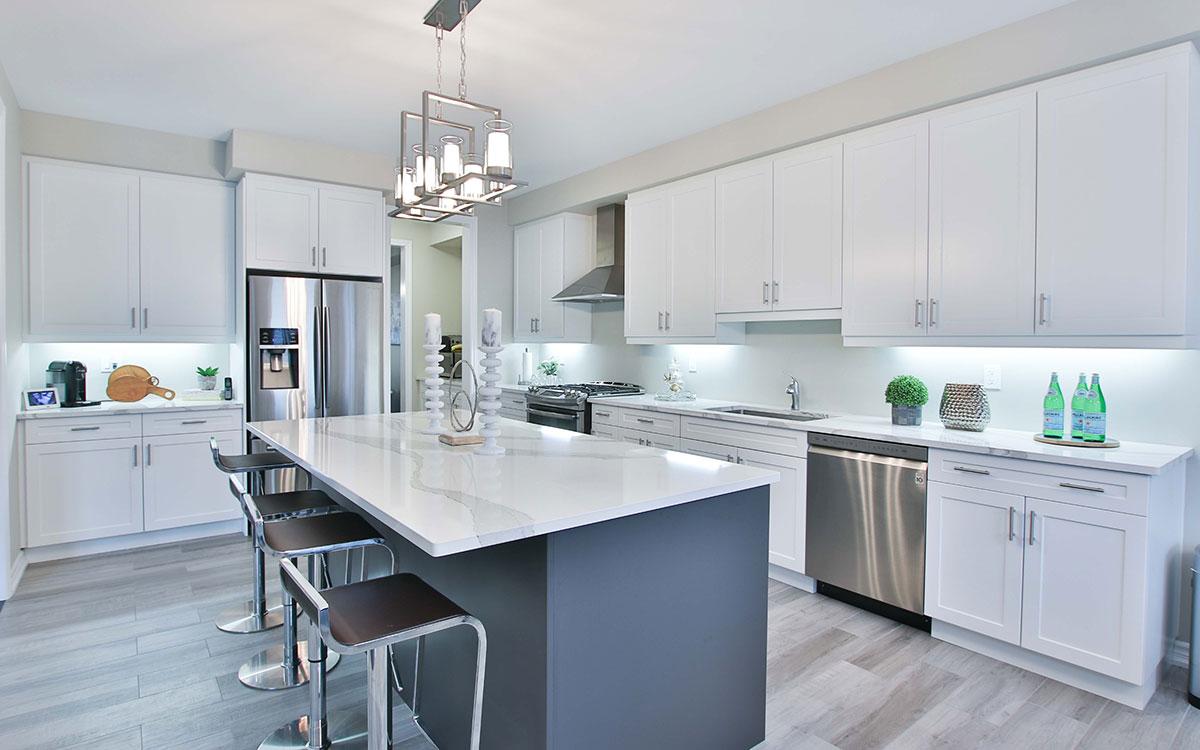 Home improvement kitchen revamp