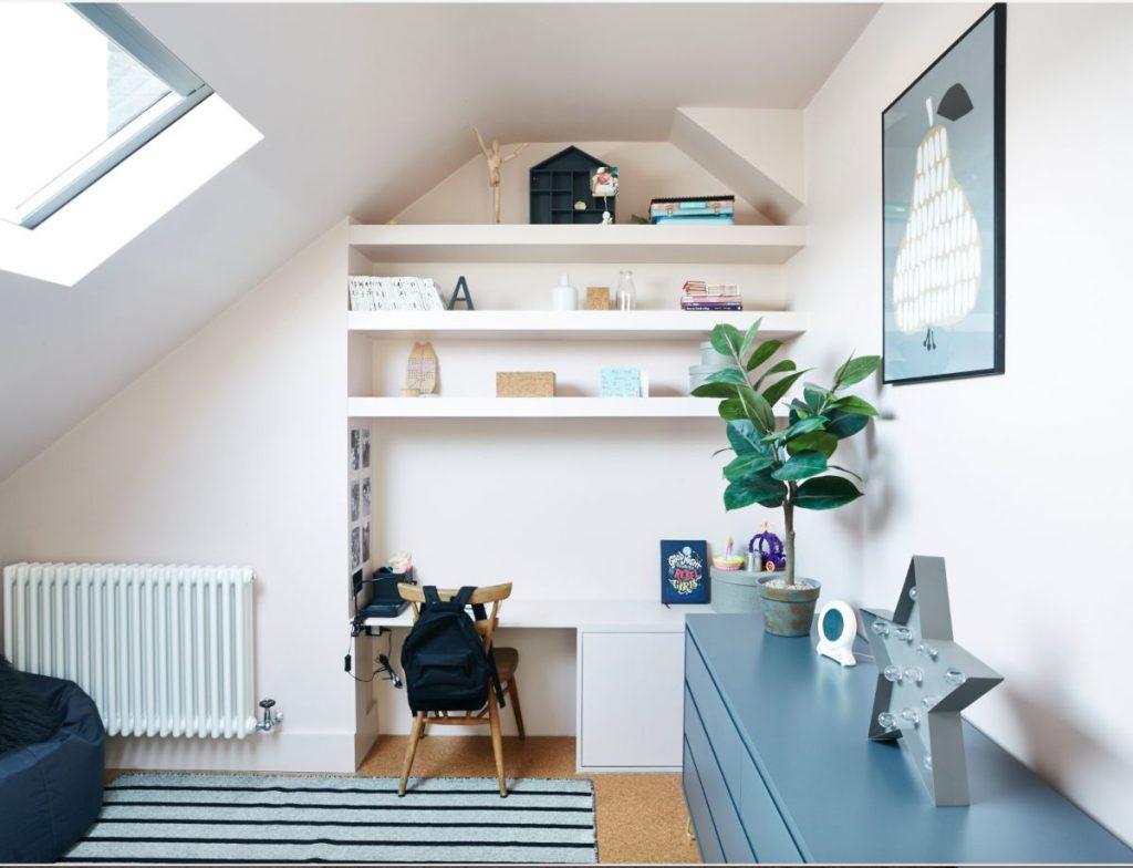 Loft Renovation with decorative items